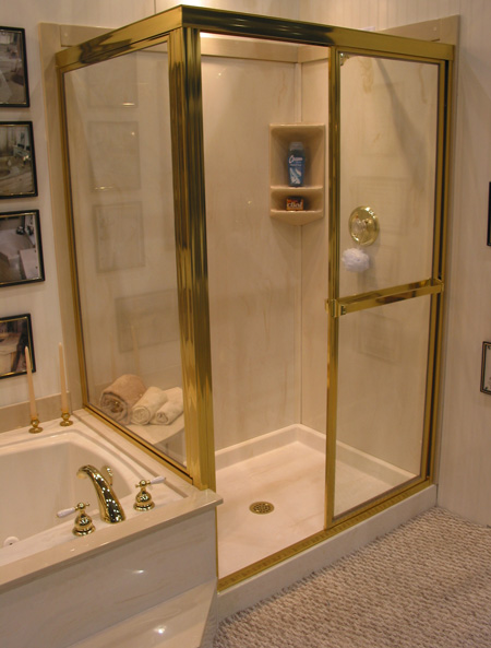 Rainbow Cultured Marble, Inc.-Shower Bases